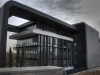 Facadeprojekt til kontorer i Madrid Slate Black 100 x 50 cm / Transit Gris 100 x 50 cm
