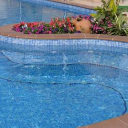 Mosavits glasmosaikker og mosaikker til spa og swimmingpools